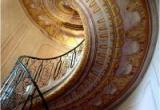 Лестница из натурального камня: мрамор, гранит